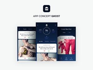 App Concept Ghost