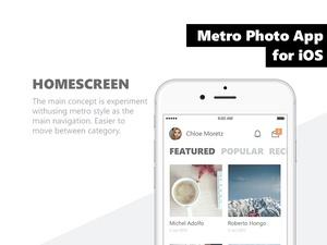Metro iOS App Template