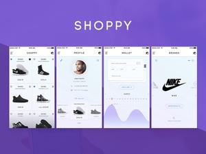 Shoppy Ecommerce Mobile App UI/UX