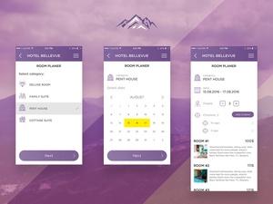 Mountain App UI