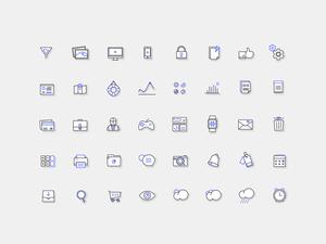 Fblu Icons