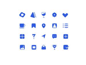 20 Unique Icons