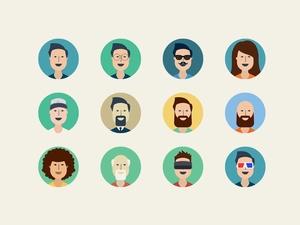 User Profile Icons