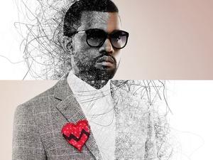 Kanye West – Sketch Lines
