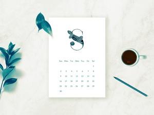 2018 Botanical Calendar