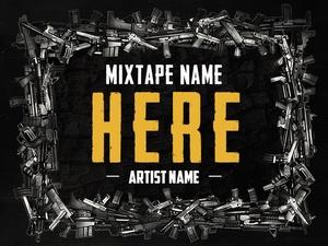 Hip-Hop Mixtape Cover V6