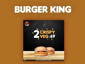 Burger King Social Media Post Template