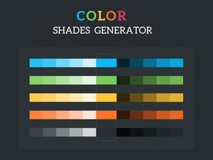 Colour Shades Generator