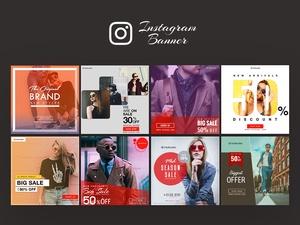 Instagram Ad Banner Templates