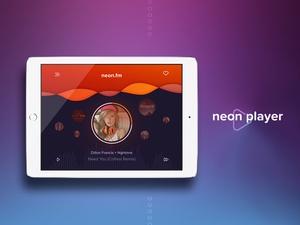 Neon Player UI