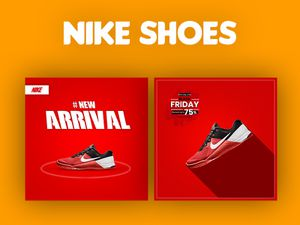 Nike Shoes Post Template