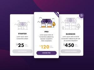 Pricing Page UI Design