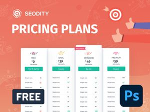 Pricing Plans Template