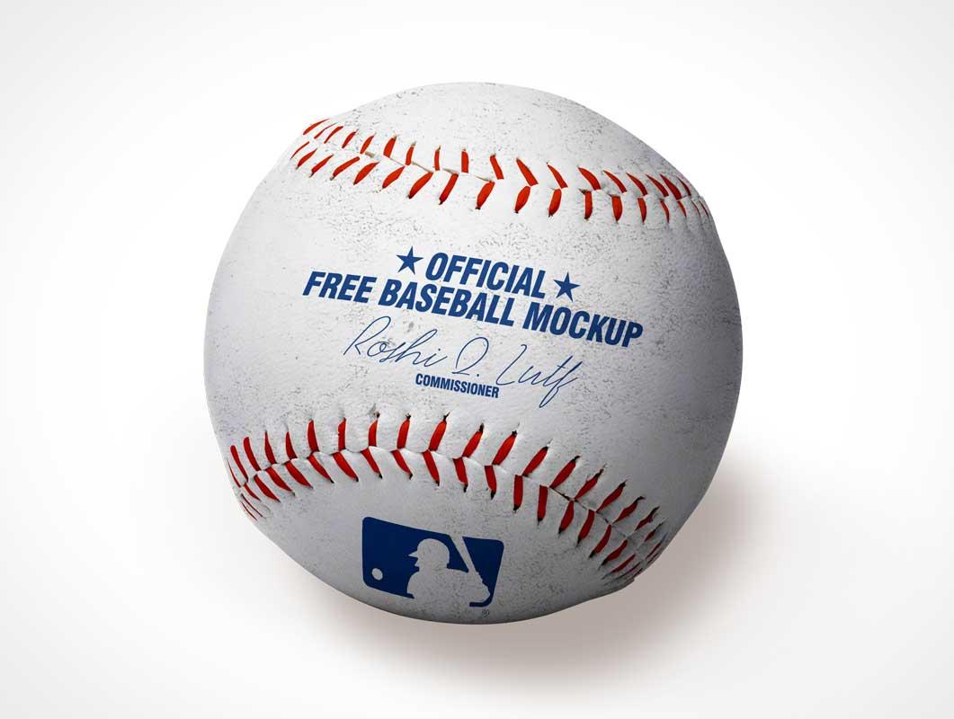 Official League Pro Baseball PSD Mockup