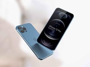 2 Flying iPhone 12 Mockups