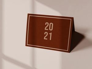 2021 Calendar Mockup