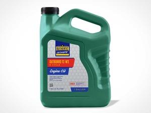 3.78 Litre Engine Oil Bottle PSD Mockup