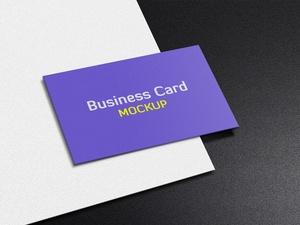 Business card Free Mockup PSD Template