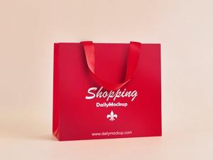 Shopping Bag Mockup PSD Template