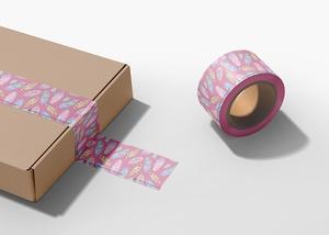 Free Adhesive Duct Tape Mockup
