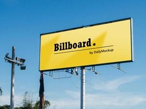 Billboard Mockup Free PSD