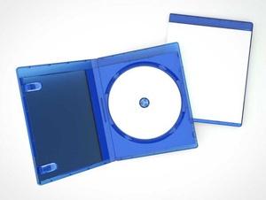Blu-Ray Disk & Jewel Case PSD Mockups