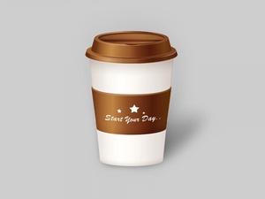 Coffee Cup PSD Mockup Free