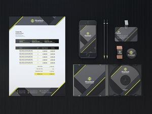 Branding Identity Pack Mockup
