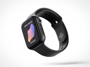 Free Apple iWatch Download PSD Mockups