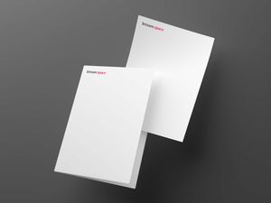 Free Blank Papers Mockup