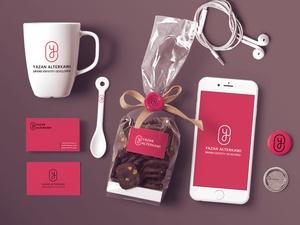 Free Chocolate & Phone Mockup