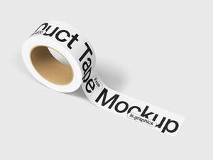 Free Custom Duct Tape Mockup