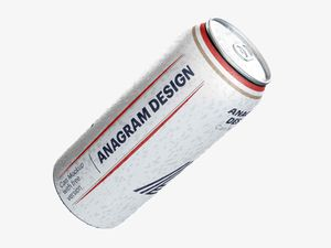 Free Drink Can Mockup