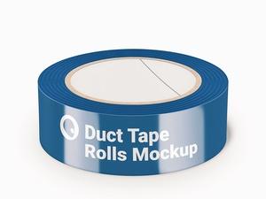 Duct Tape Rolls Mockup