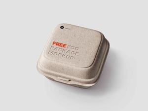Kostenloses Eco-Paketmodell