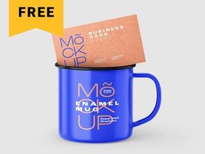 Enamel Mug Mockup Set