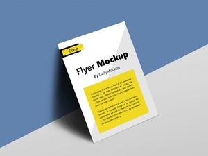 Free Flyer Mockup Template PSD