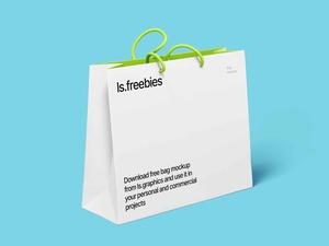 Free High Resolution Bag Mockup