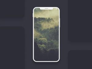 Мокап экрана iPhone 8