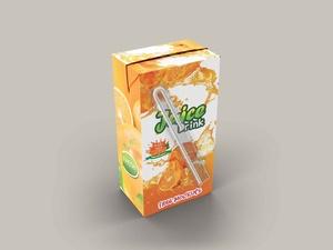 Free Juice Drink Packaging Mockups