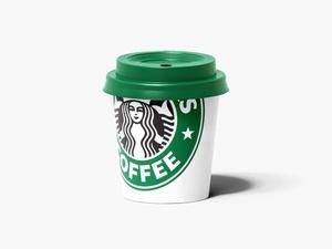 Free Paper Espresso Cup Mockup