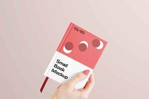 Free Small Book Mockup