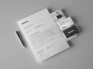 Free Stationery Branding Mockup Set
