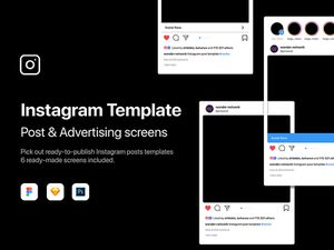 Instagram Post & Advertising Templates