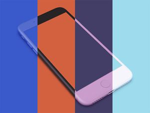 Perspective iPhone Clay Mockup