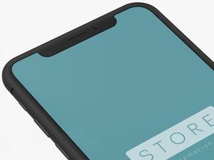 iPhone X Clay Mockup