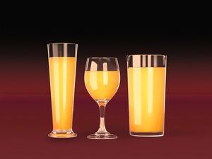 Juice Glasses Mockup