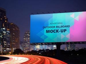 Outdoor Billboard Mockup Free