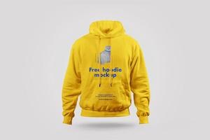 Free Pullover Hoodie Mockup