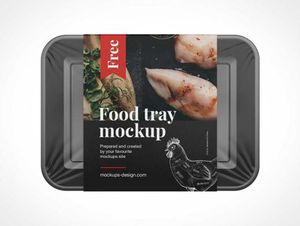 Ready-Made Food Container PSD Mockups